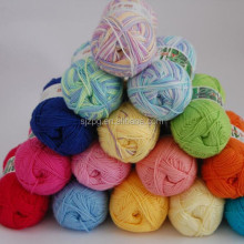 Multi-strand 70% Bamboo Fiber Cotton Yarn for Hand Machine knitting