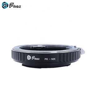 Fikaz 2018 best selling lens adapter ring PK-NIK with glass for M42 Mount Lens to NIK Camera.
