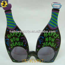 Funny Beer Bottle Shape Sunglasses New Year Favor