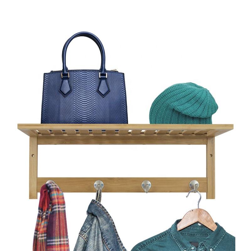 Wall-Mounted Coat Rack Hooks Simple Retro Utility Rustic Hooks Door Hook Hanger For Bag Clothes Coat 3