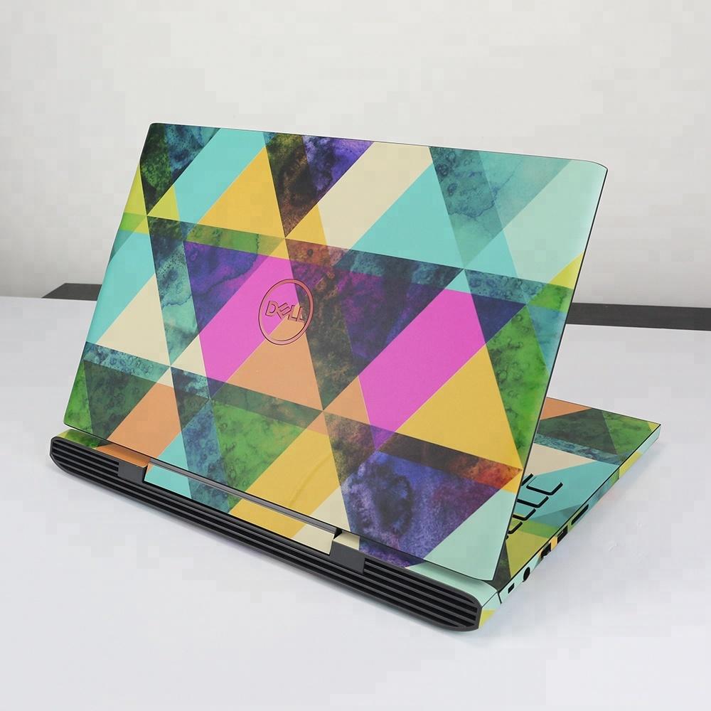 Custom laptop covers adhesive vinyl waterproof decals skin