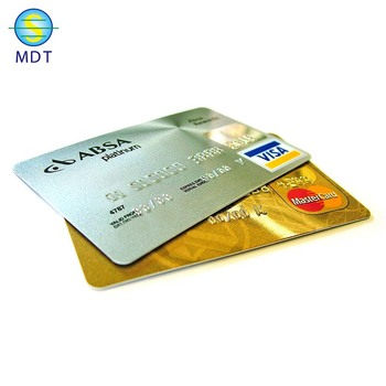 MDT1 business cards shaped like and message color card