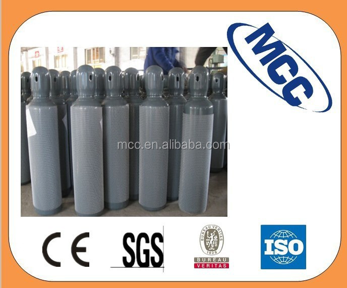 ISO9809 16L dia 159mm Seamless steel agon gas cylinder