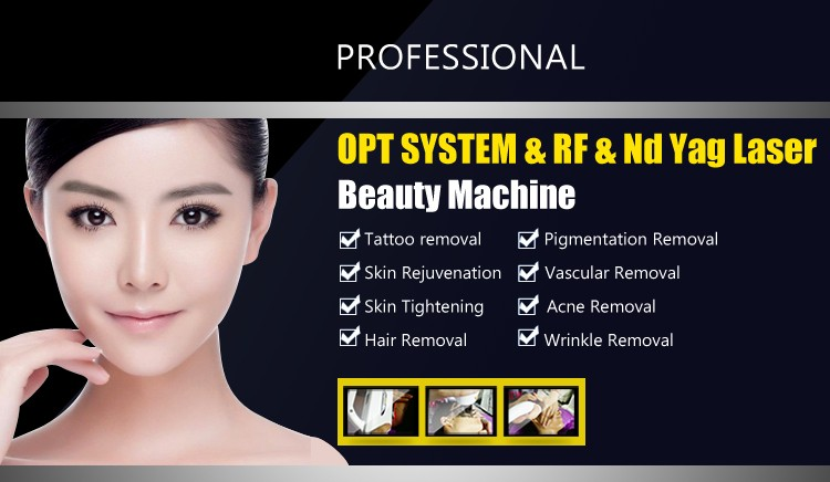 MY-L88 뜨거운 판매 4 1 ipl opt 레이저 머리 제거/문신 제거 기계