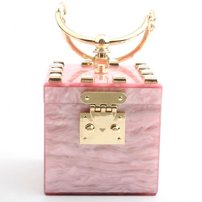 Дизайнерские женские сумки известных брендов модные квадратные акриловые женская свадебная кошелек вечерние женские роскошные вечерняя сумочка-клатч