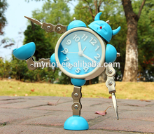 2017 most popular cute cartoon printing clock for kids
