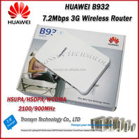 New Original Unlock HSDPA 3.6Mbps B932 3G Wireless Router Support UMTS/HSDPA 900/2100MHz With RJ11 And RJ45 Port