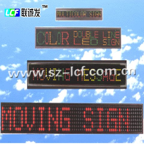advertising car led message board window sign equipment