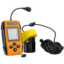 Hot selling 100m Portable digital lcd Handle wired Sonar Radar Fish Finder