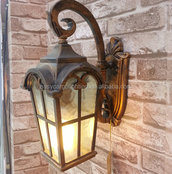 Europa Style Outdoor Garden Wall Lighting Arabic Lamp For Outside 701w