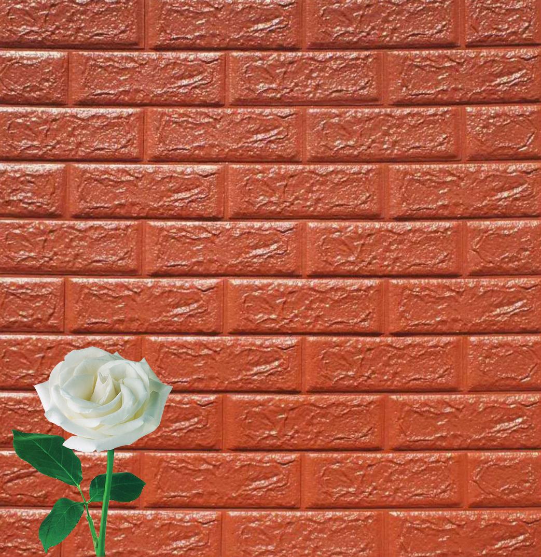 Waterproof 3d Self Adhesive Pe Foam Wood Wallpaper - Buy