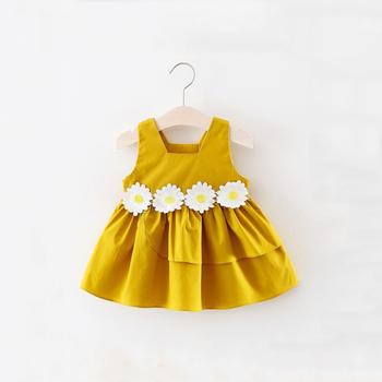 d737c58bd20d7 Bkd Newborn Baby Dresses Sunflower Patterns Designs For Girls ...
