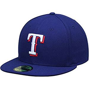 New Era Texas Rangers MLB Authentic Collection 59FIFTY On Field Cap NewEra