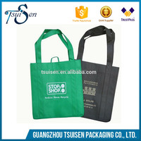 guangzhou factory made 100% biodegradable non woven tote bags
