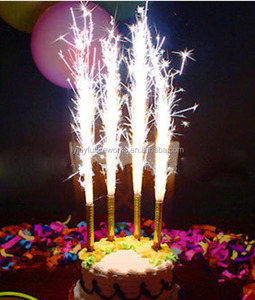 factory directly birthday candle fireworks sparklers, indoor 10cm 12cm 15cm birthday candle sparklers