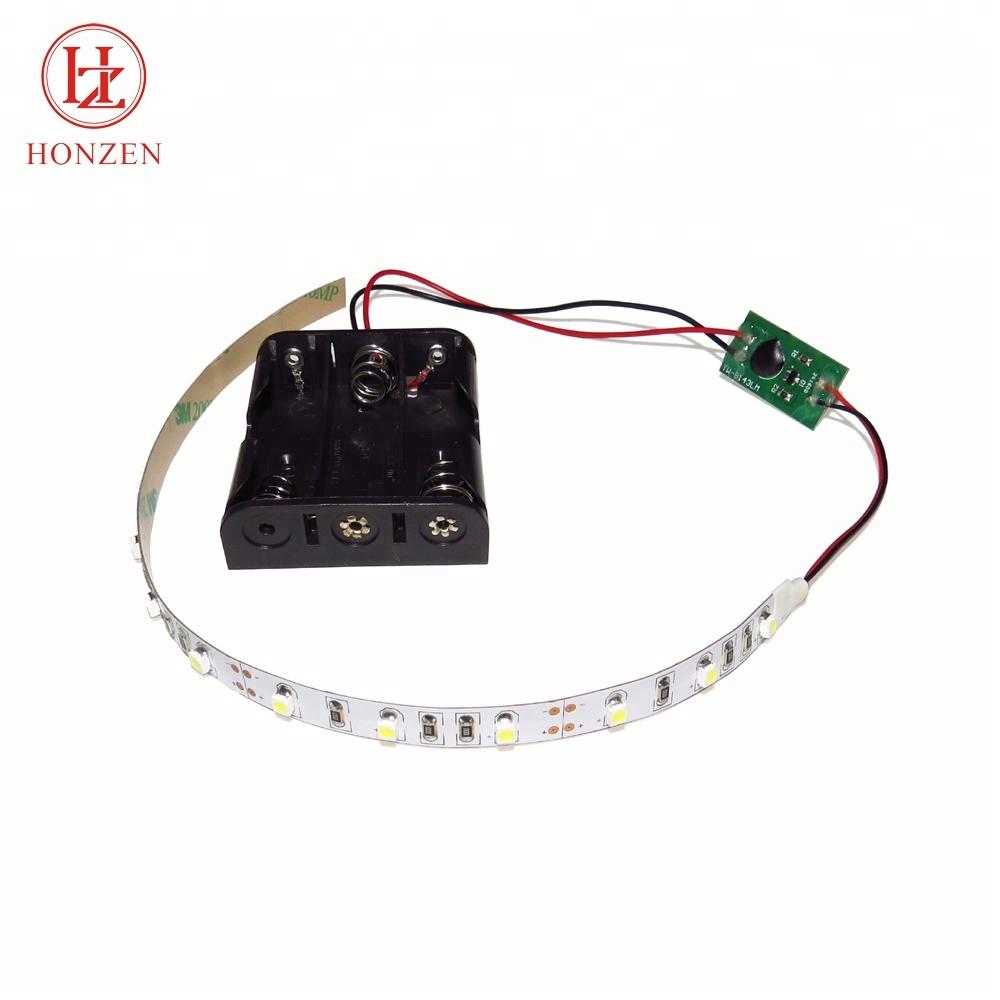 60leds per meter SMD 3528 cool white led self adhesive strip lights