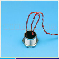 16mm PS19A illuminated metal door bell push button switch with flat button etched