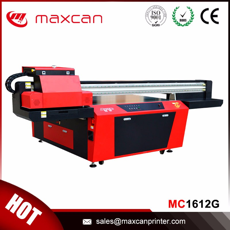 Leather printing Ricoh Gen5 print head printer uv led digital printing machine with long service