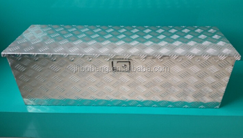 Waterproof Aluminum Truck Tool Box With Chains BH-X1120