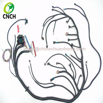 Cnch 1999-2003 Dbc Ls/vortec Standalone Wiring Harness With Th350 Th400 on