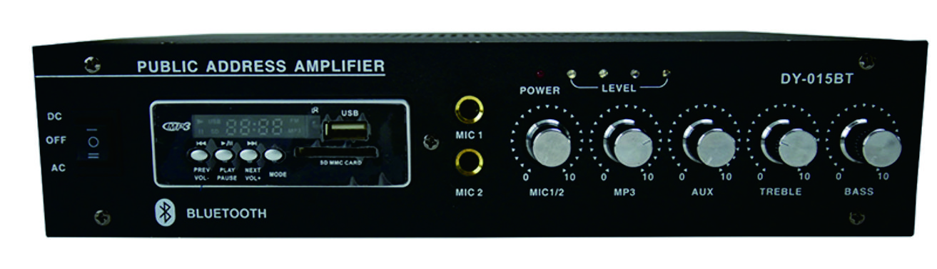 2X30 W Public Address System Power Amplifier