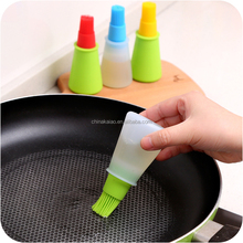 100% barbeque basting using silicone oil brush