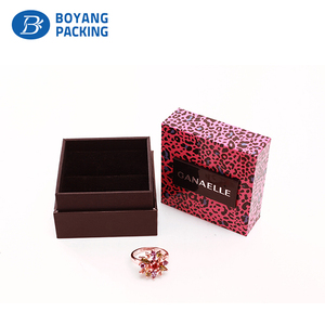 Hot sale jewelry box for ring necklace bracelet set earring