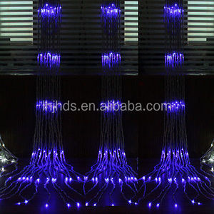 3*3M Led Waterfall Light Water Flow Lights Wedding Party Background Decor