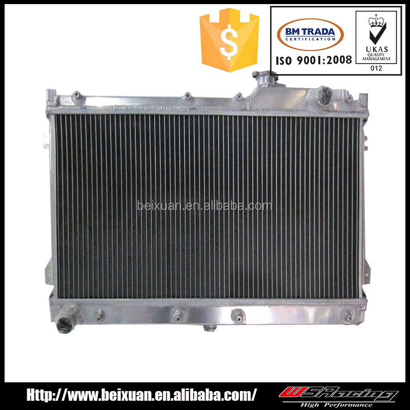 for MITSUBISHI LANCER performance 2 rows radiator