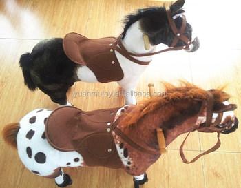 monter cheval jouet poney grandeur nature jouets animal cheval sur la roue m canique cheval. Black Bedroom Furniture Sets. Home Design Ideas
