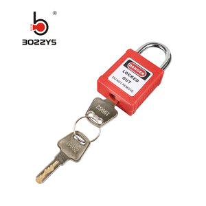BOSHI Industrial Electrical Combination Steel Shackle Lock Safety Padlocks