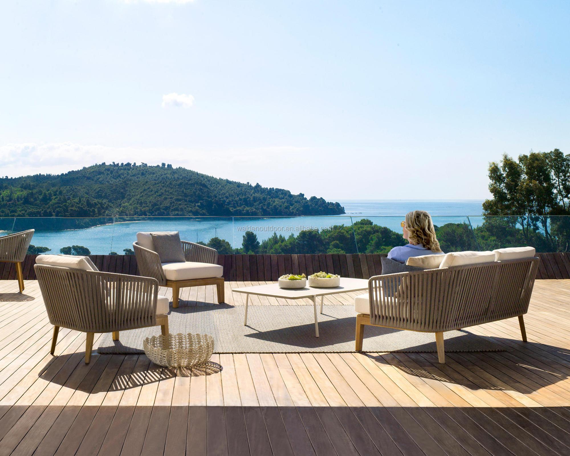 Luxury Miami Rattan Furniture /wholesale Cheap Garden Sofa ...