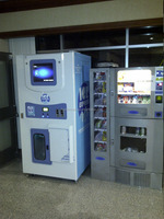 Ice vending machine for north america market