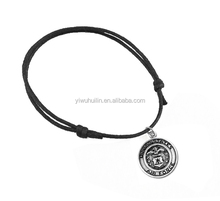 HL1074 Yiwu Huilin Schmuck United States Air Force Charme <span class=keywords><strong>Feuerbestattung</strong></span> eagle Benutzerdefinierte wachsschnur Armband