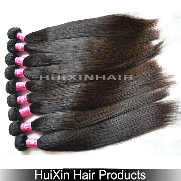 Wholesale full lace top 100% human hair weave 6A Philippine virgin hair straight