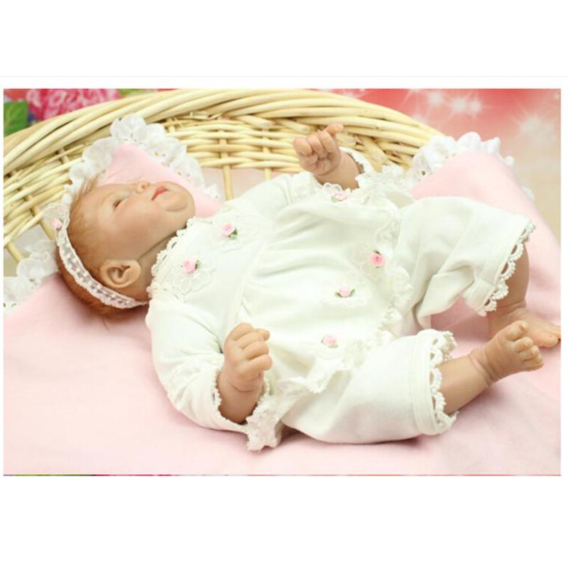 Wholesale Silicone Reborn Dolls Lifelike Baby Doll 18 Inch