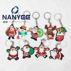 Custom fancy cute hot sales soft pvc keychain