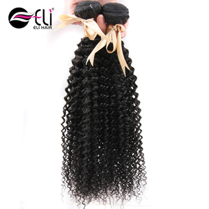 Jerry Curly Hair Relaxers Indian Remy Human Hair Weave Wholesale 3 Bundles With Frontal
