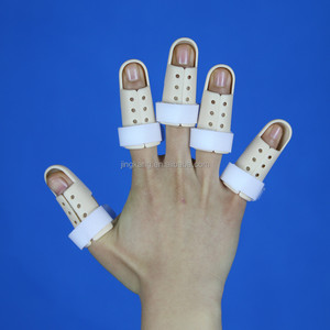 Orthopedic Medical Fixing plastic finger splint finger fracture splint