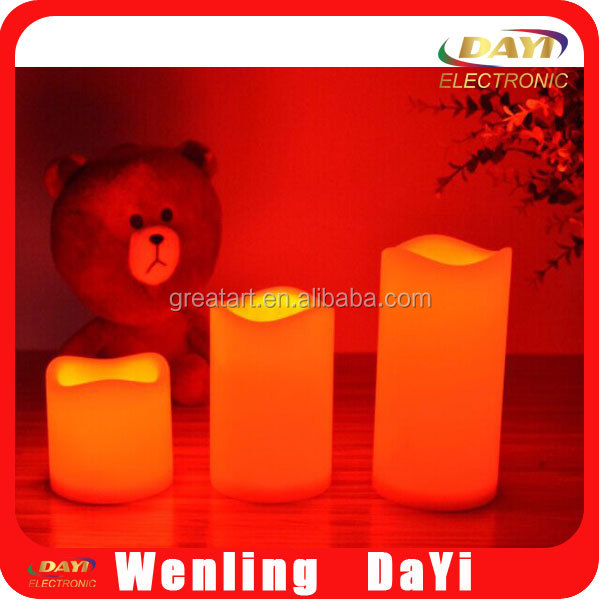 Christmas led candle, led candle wholesale, hot sale lighted promotional product