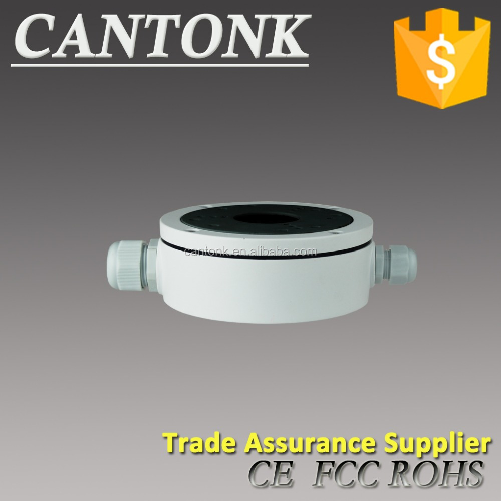 Easy installation Cantonk B320 Aluminum Junction Box make cameras dustproof and rainproof