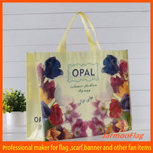 Custom picture printing laminated promotional shopping pp non woven handle bag