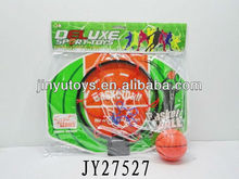 Kids mini plastic basketball board and hoop sport toy set