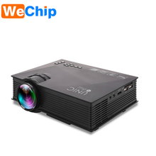 2017 led mini pocket projector Mini 800 AND1200 Full HD LED 1080p Home Cinema Portable Projector UC46