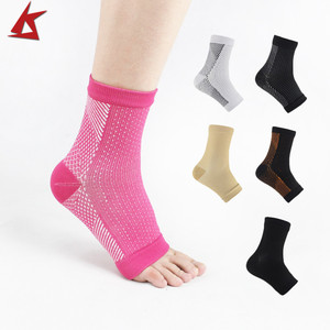 KS-3012# Ankle Support Socks Arch Support Compression Foot Sleeve Plantar Fasciitis Socks Heel Pain Relief