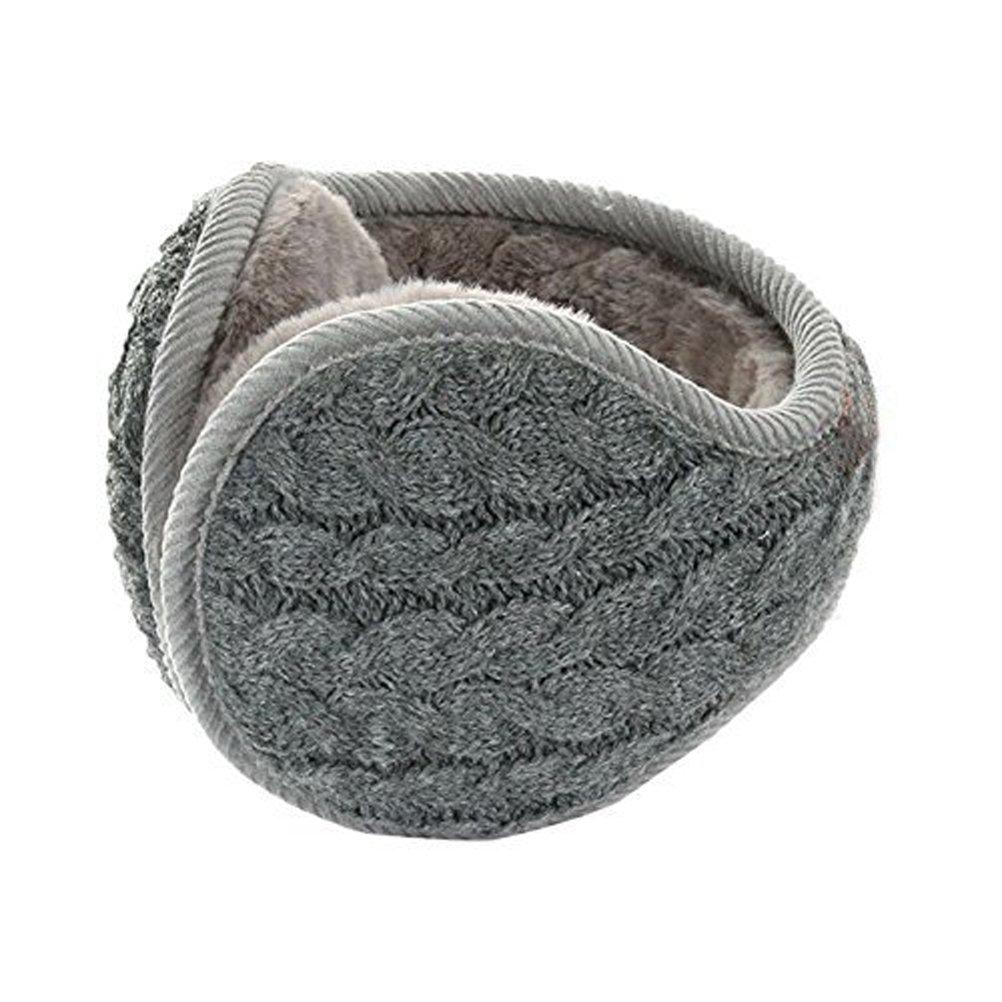 8fedd0aebac Buy Unisex Knit Wool Foldable Earmuffs