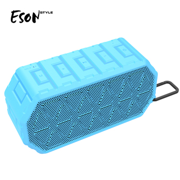 Eson Style Ipx6 Bluetooth cell phone Portable Wireless Super Bass Stereo sound usb tablet speaker bluetooth
