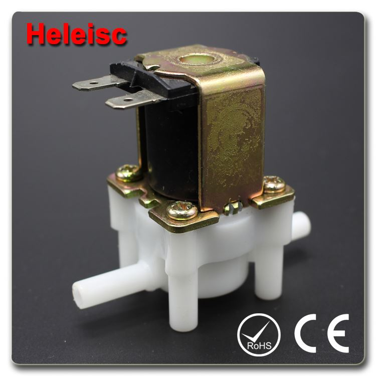 Water dispenser solenoid valve electric water valve pump upper casings