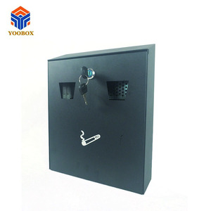 Good Quality Public modern stainless steel metal custom wall mounted ashtray