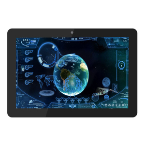 Wall Mounted Android Kiosk 10 Inch Tablet Pc With Ethernet Port Rj45 Poe Rk3288